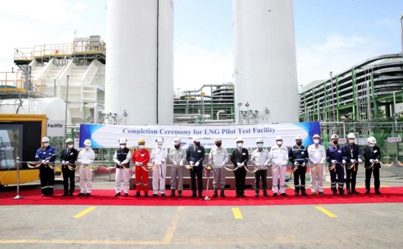 삼성重, 통합 LNG 실증 설비 완공